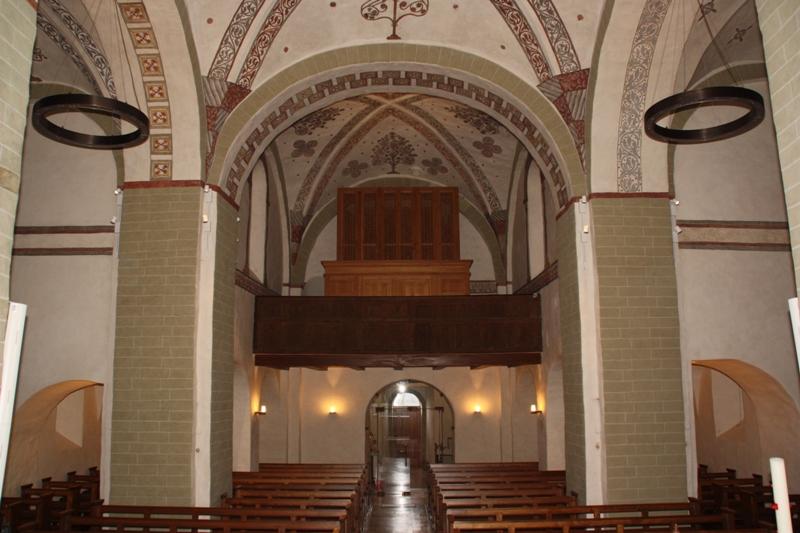 Restaurierung der Innenraumschale