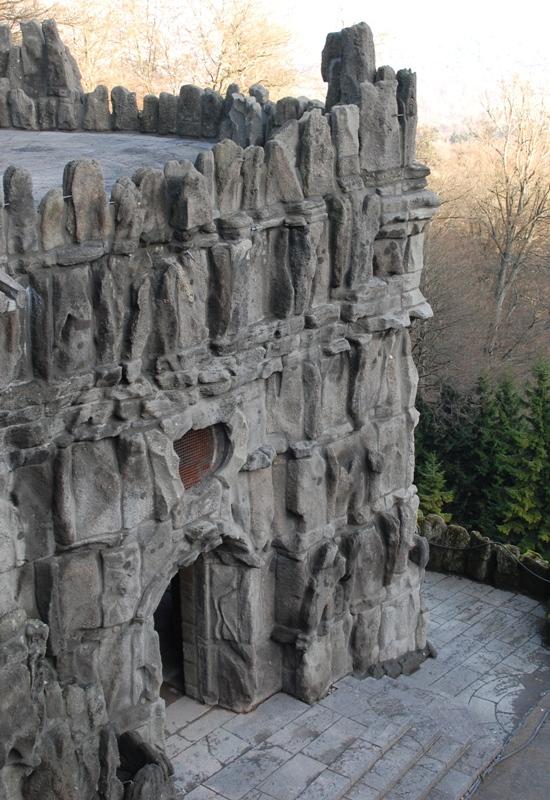 Museumslandschaft, Bergpark, Vexierwassergrotte